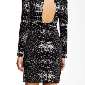 Parker Dresses - Parker 'Duffy' cold shoulder dress, black/white M